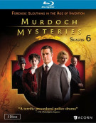 Murdoch Mysteries: Season Six Blu-ray