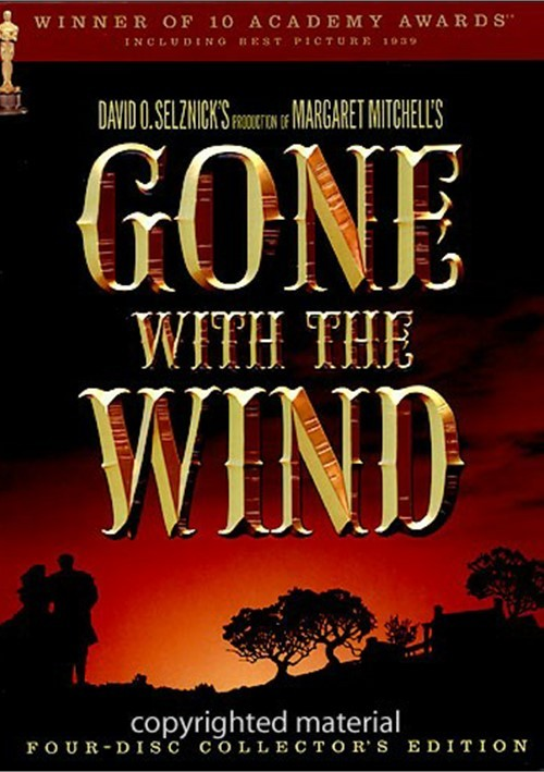 gone with the wind fourdisc collectors edition movie