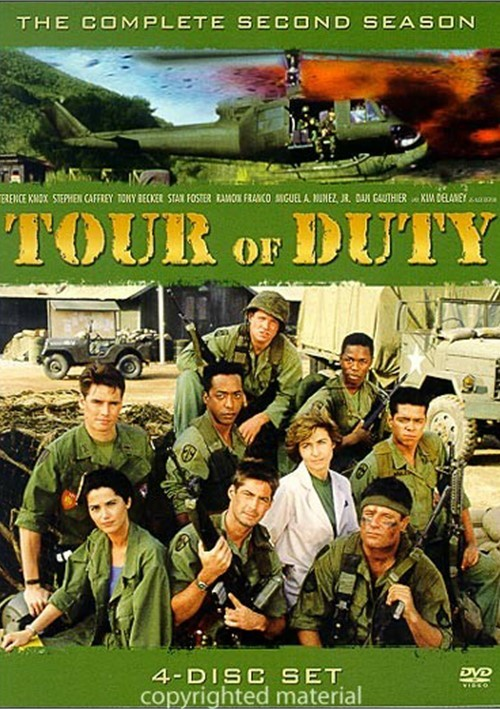 tour of duty the complete second season dvd 1989 dvd. Black Bedroom Furniture Sets. Home Design Ideas