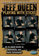 Jeff Queen: Playing With Sticks (with Book) Movie