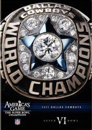 NFL Americas Game: Dallas Cowboys Super Bowl VI Movie