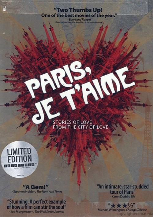 Paris, Je Taime (Steelbook) Movie