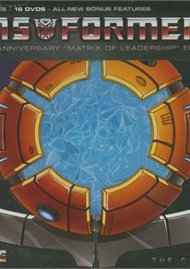 Transformers: The Complete Series - 25th Anniversary Matrix Of Leadership Edition Movie