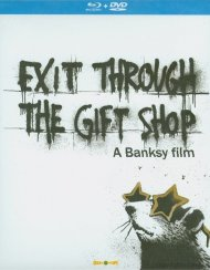 Exit Through The Gift Shop (Blu-ray + DVD Combo) Blu-ray