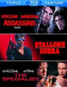 Assassins / Cobra / The Specialist (Triple Feature) Blu-ray