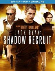 Jack Ryan: Shadow Recruit (Blu-ray + DVD + Digital Copy + UltraViolet) Blu-ray
