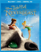 Tinker Bell And The Legend Of The Neverbeast (Blu-ray + DVD + Digital HD) Blu-ray