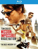 Mission: Impossible - Rogue Nation (Blu-ray + DVD + UltraViolet) Blu-ray