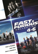 Fast & Furious Collection: 4-6 Movie