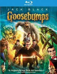 Goosebumps (Blu-ray + DVD + UltraViolet) Blu-ray