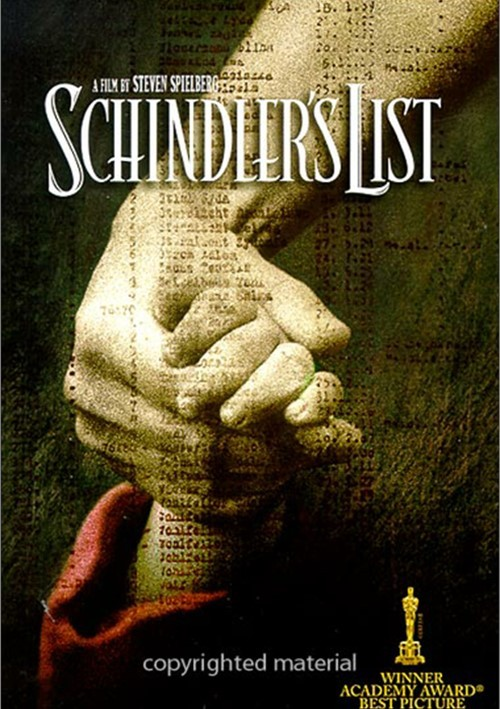 Schindlers List (Widescreen) Movie