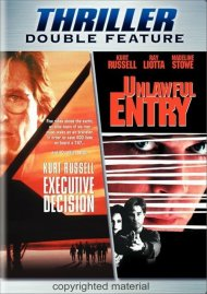 Executive Decision / Unlawful Entry (Double Feature) Movie