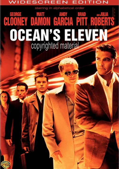 Oceans Eleven (Widescreen) Movie