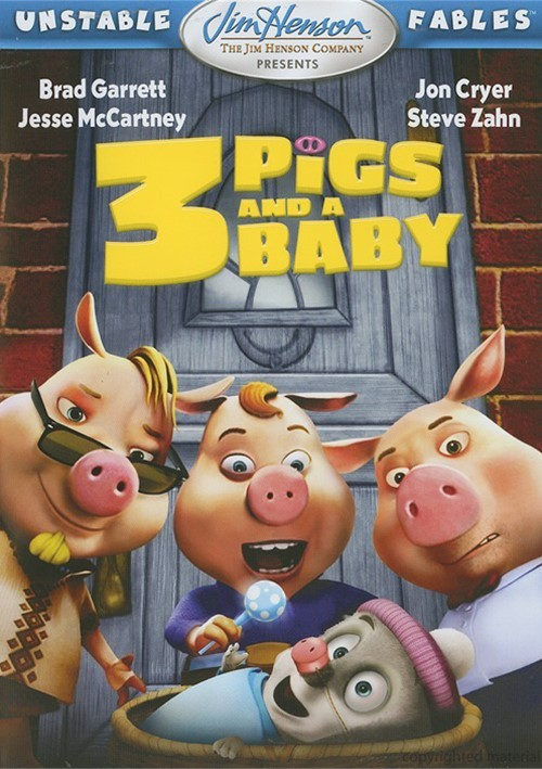 Unstable Fables: 3 Pigs & A Baby Movie