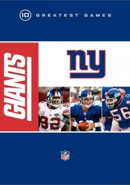 NFL Greatest Games Series: New York Giants 10 Greatest Games Movie