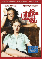10 Things I Hate About You: 10th Anniversary Edition Movie