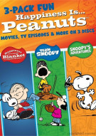 Happiness Is... Peanuts: 3 Pack Of Fun Movie