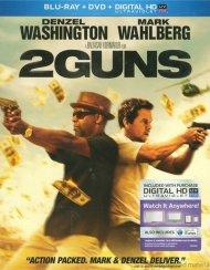 2 Guns (Blu-ray + DVD + UltraViolet) Blu-ray