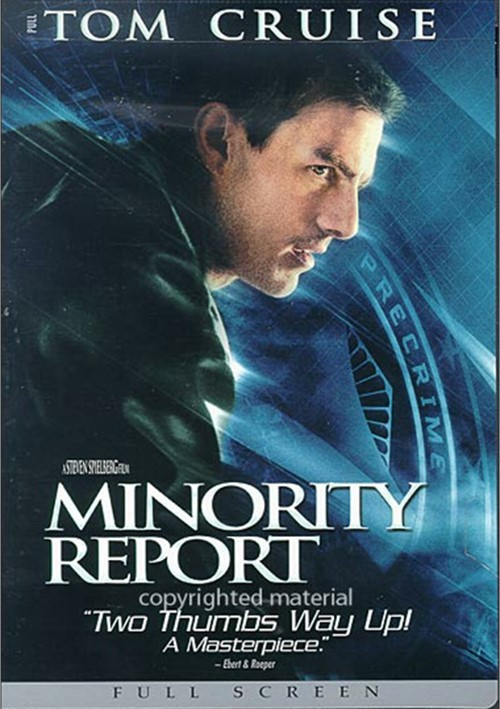 Minority Report (Fullscreen) Movie