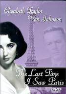 Last Time I Saw Paris, The (Laserlight) Movie