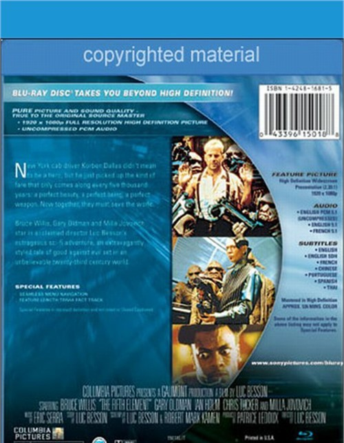 Cheapest adult dvds fifth element