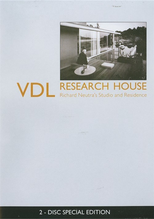 VDL Research House: Richard Neutras Studio And Residence - 2 Disc Special Edition Movie