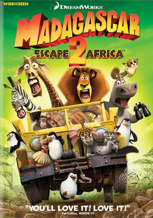 Madagascar: Escape 2 Africa (Widescreen) Movie