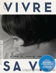 Vivre Sa Vie: The Criterion Collection Blu-ray