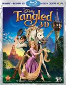 Tangled 3D (Blu-ray 3D + Blu-ray + DVD + Digital Copy) Blu-ray