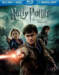 Harry Potter And The Deathly Hallows: Part 2 (Blu-ray + DVD + Digital Copy) Blu-ray