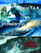 Twister / Poseidon / The Perfect Storm (Triple Feature) Blu-ray