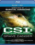 CSI: Crime Scene Investigation - Grave Danger (Blu-ray + DVD Combo) Blu-ray