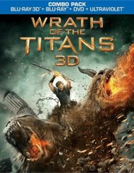 Wrath Of The Titans 3D (3D Blu-ray + Blu-ray + DVD + UltraViolet) Blu-ray