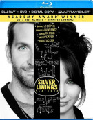 Silver Linings Playbook (Blu-ray + DVD + Digital Copy + UltraViolet) Blu-ray