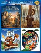 4 Film Favorites: Family Adventures Blu-ray
