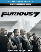 Furious 7 (Blu-ray + DVD + UltraViolet) Blu-ray