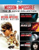 Mission Impossible 5-Movie Collection Blu-ray