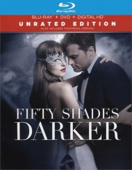 50 Shades Darker (Blu-ray + DVD + UltraViolet) Blu-ray