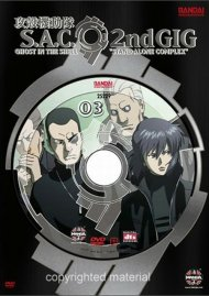 Ghost In The Shell: S.A.C 2nd Gig Volume 3 - Limited Edition Movie