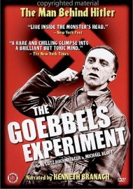 Goebbels Experiment, The Movie