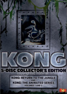 Kong: The Animated Series Gift Set Movie