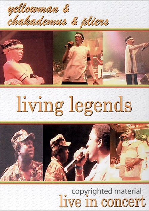 Yellowman & Chaka Demus & Pliers: Living Legends - Live In Concert Movie