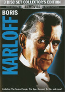 Boris Karloff: 3 Disc Set Collectors Edition Movie