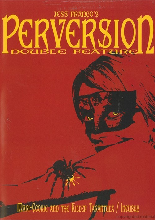 Jess Francos Perversion: Mari-Cookie And The Killer Tarantula / Incubus (Double Feature) Movie