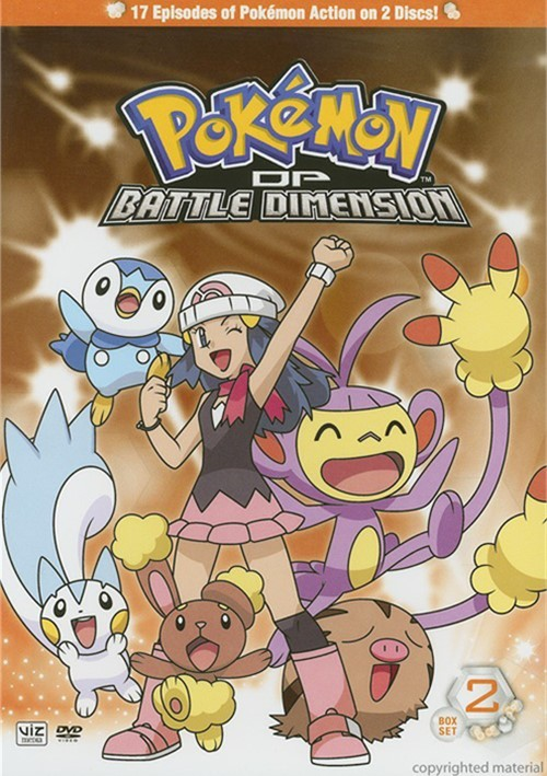 Pokemon: Diamond And Pearl Battle Dimension - Box 2 Movie