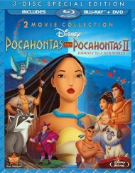 Pocahontas: Two Movie Special Edition (Blu-ray + DVD Combo) Blu-ray