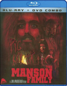 Manson Family, The (Blu-ray + DVD Combo) Blu-ray