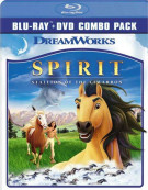 Spirit: Stallion Of The Cimarron Blu-ray
