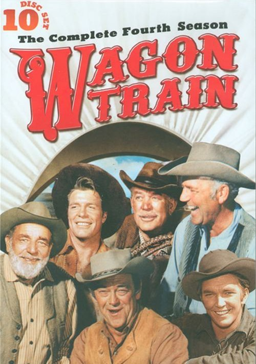 wagon train the complete season four dvd 1962 dvd empire
