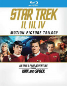 Star Trek: Motion Picture Trilogy (Repackage) Blu-ray